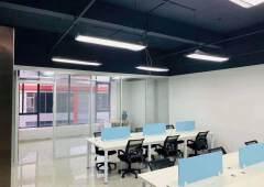 广州天河珠吉精装俢写字楼128平、直接拎包入住