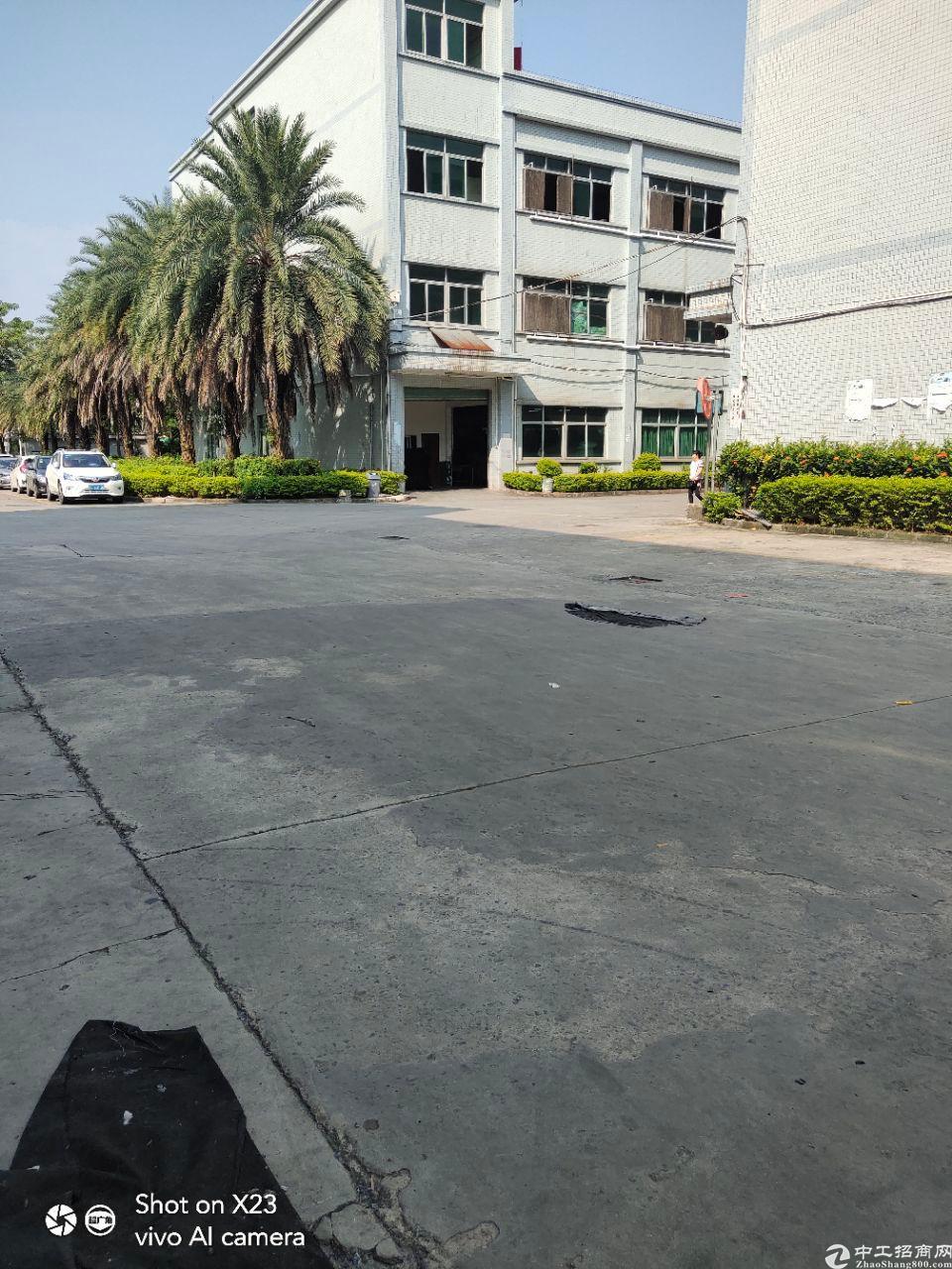惠州市新出大型工业区标准厂房80000平价格便宜