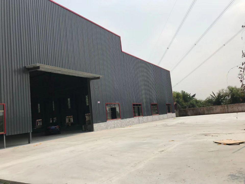 石排镇新出单一层独门独院工业厂房5700²招租,厂房自带消防