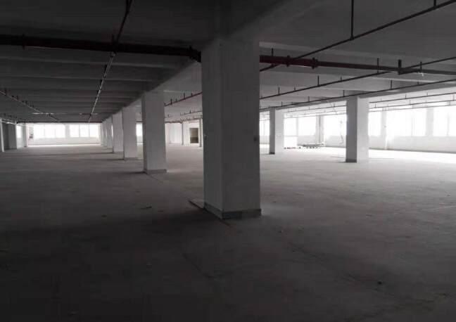 石岩标准仓库14300平,大小可分租,带卸货平台,消防喷淋