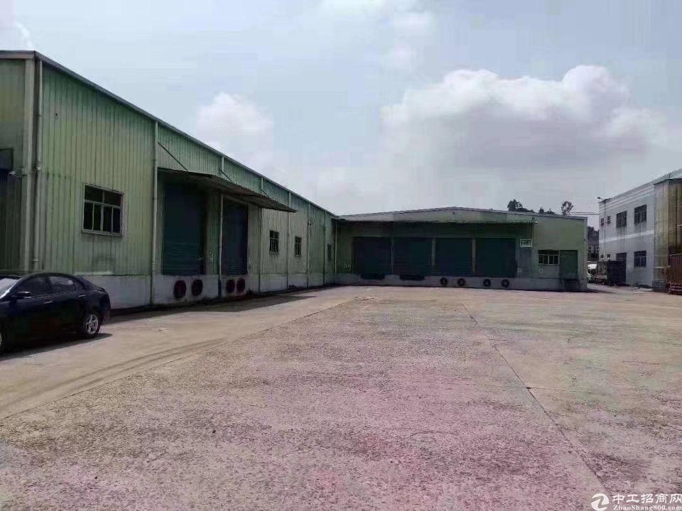 黄埔新出独院物流仓库2200平,空地大带卸货平台