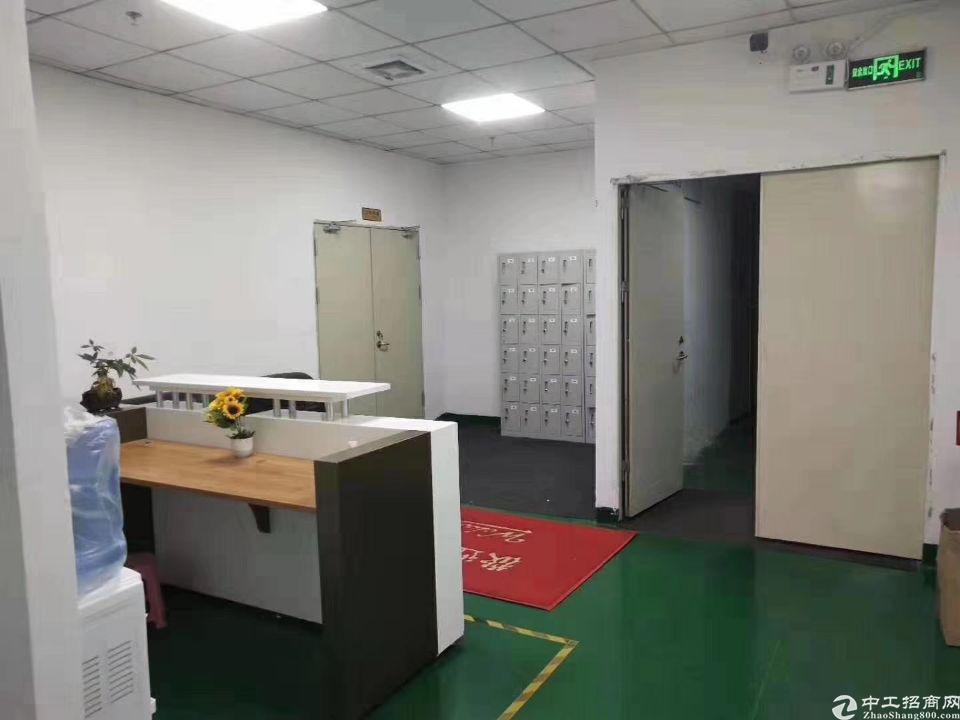 新出630平,精装修有前台+办公室+仓库,洗手间独立