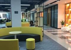 寮步镇新装修办公室写字楼按需大小可分出租