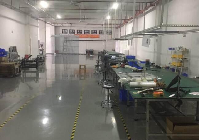 招租:观澜高速出口处新出3楼零公摊950平方带全新装修