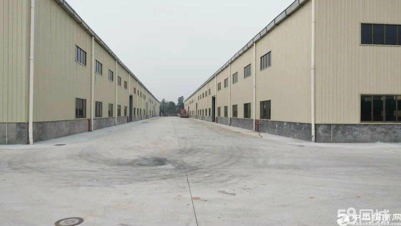 (招租)从化太平新建钢构物流仓库40000方,可分租,可短租