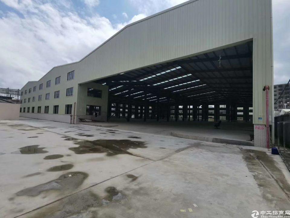 东莞石排全新独院钢结构厂房7000平方米,滴水11米带牛角
