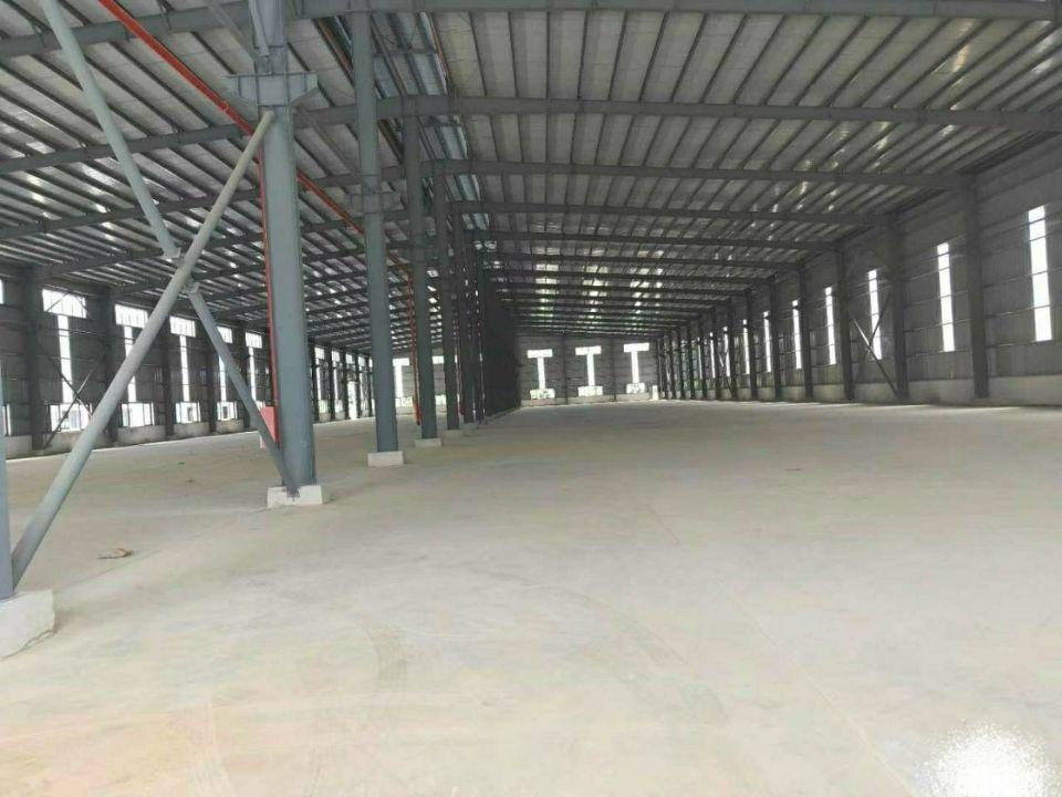樟木头厂房单一层4050平方钢结构,有隔热层,空地大