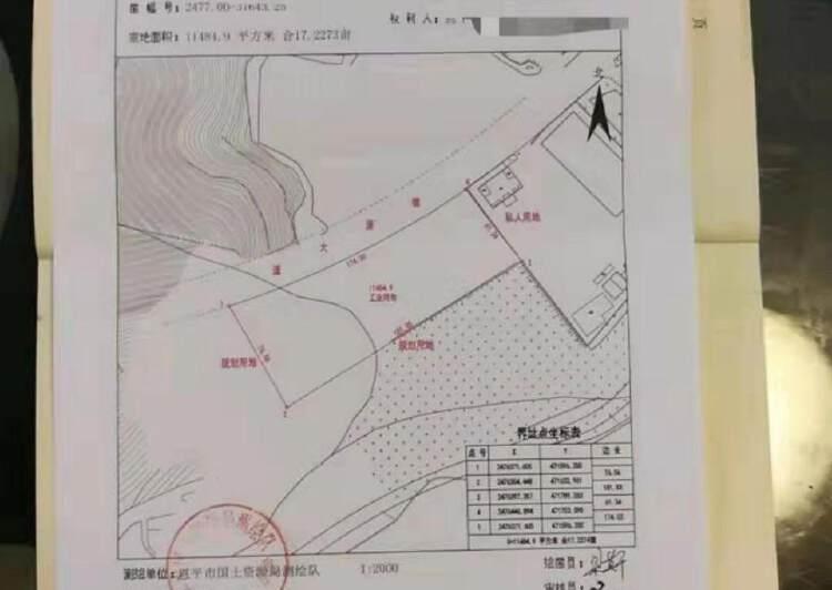 广州成熟工业区现国有官网11485㎡出售1