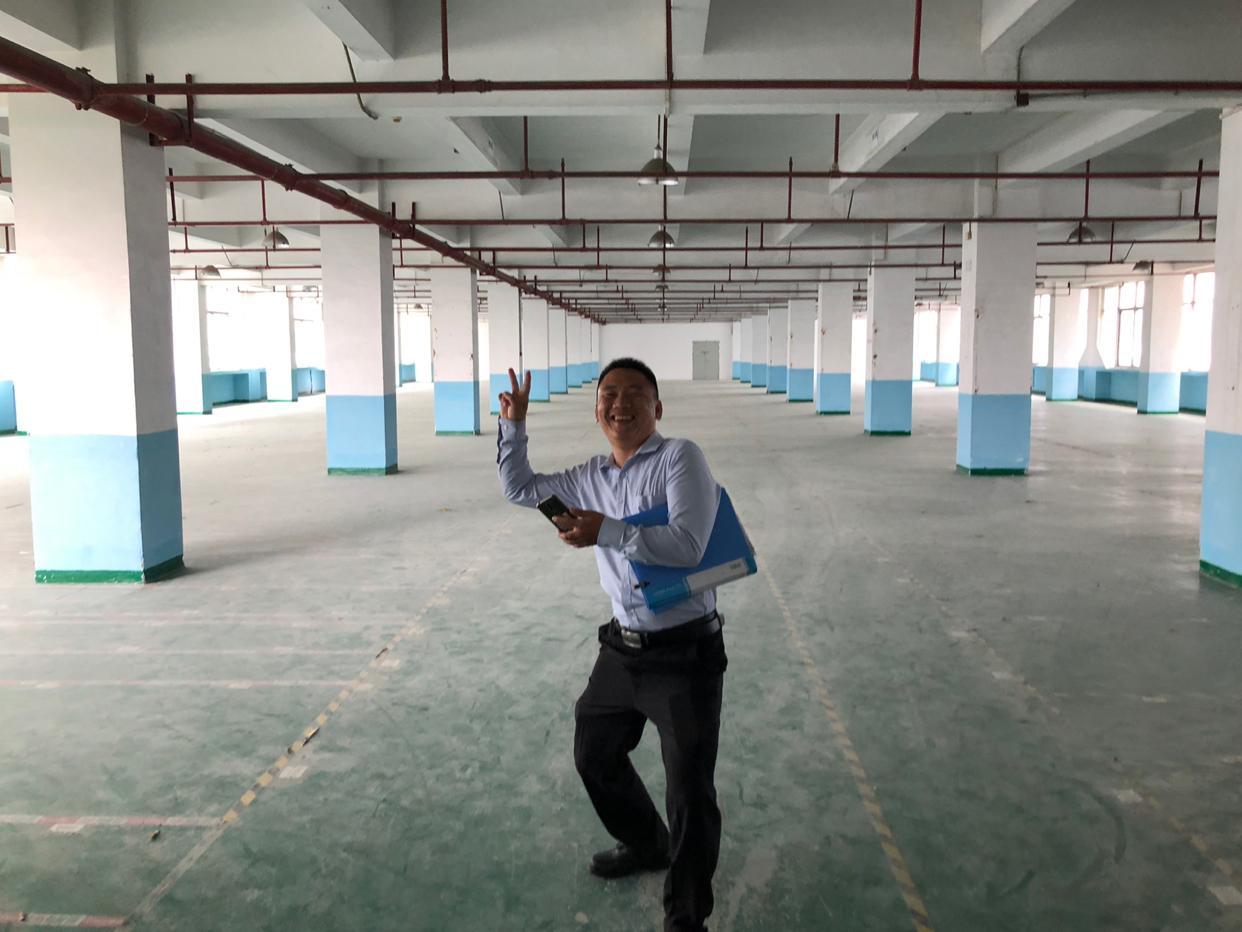 园区管理精装修2700平方标准厂房仓库出租