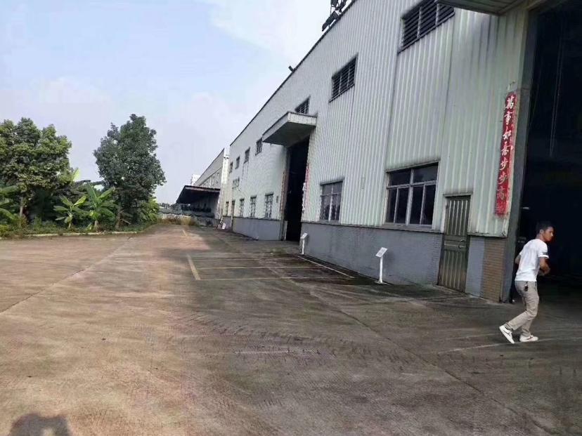 原房东独门独院单一层厂房面积7000平带行车形象好