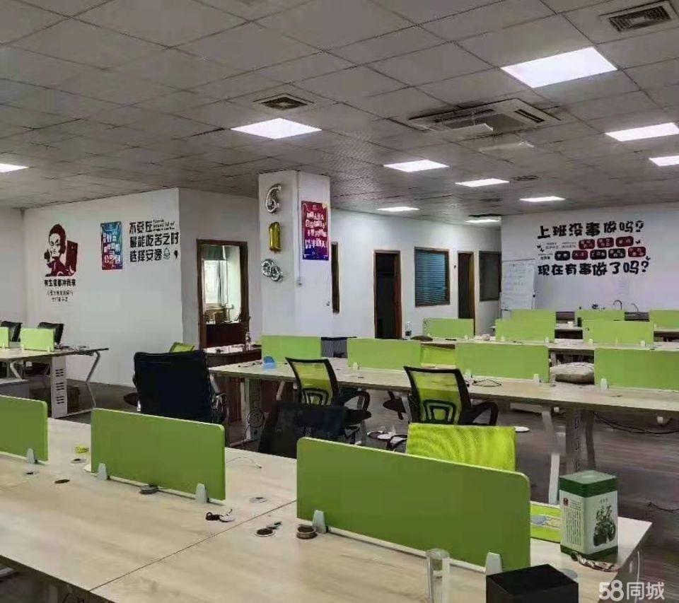 布吉坂田地铁口附近新出楼上415平精装修标准厂房出租-图3