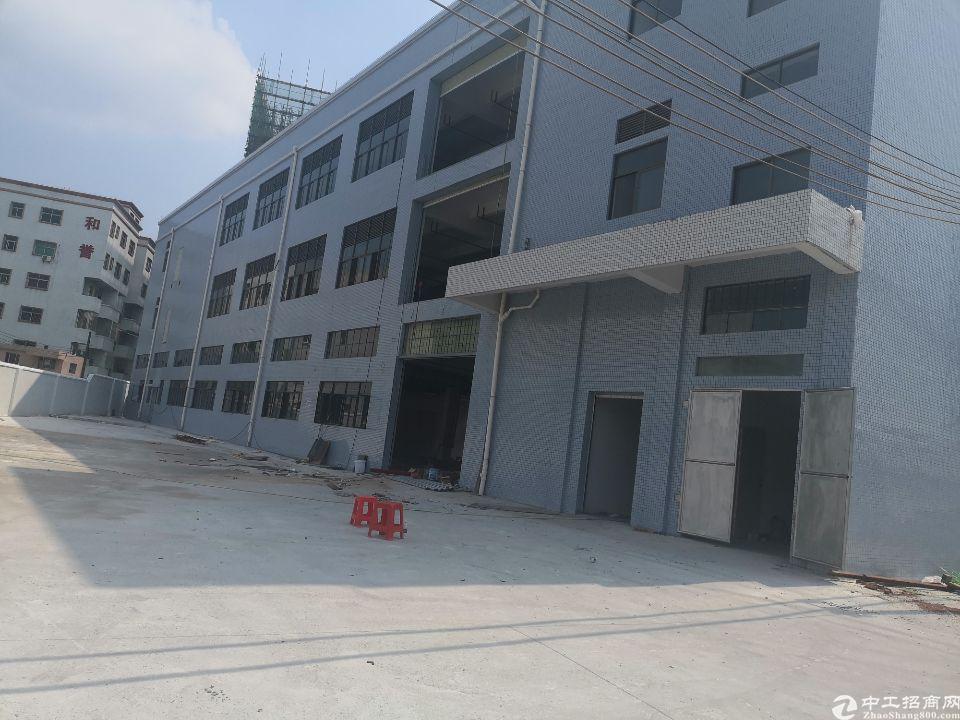 茶山镇工业区厂房分2楼现成地坪漆,吊顶,