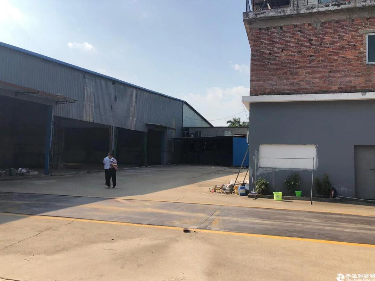 博罗石湾原房东钢结构厂房2000方低于市场价出租,证件齐全