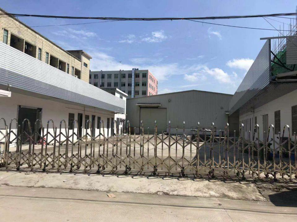 大朗原房东单一层独院厂房出租滴水8米
