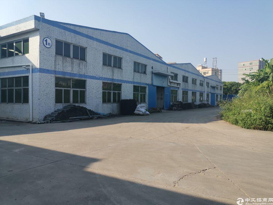 惠阳秋长白石临深两公里钢构厂房6000平米仓库出租