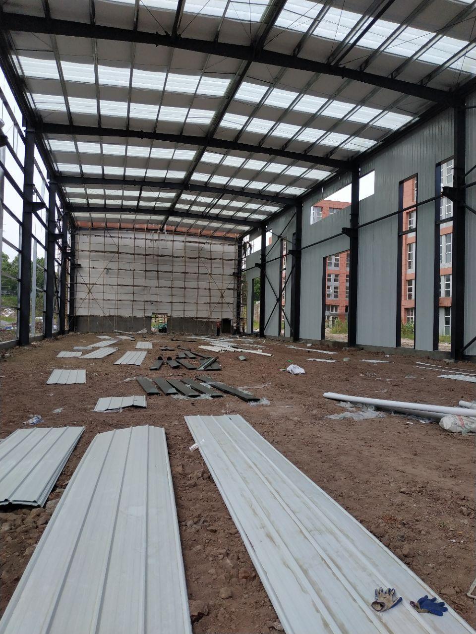 大渡口区标准厂房层高11.8米跨度24米长度100米标准钢结-图2