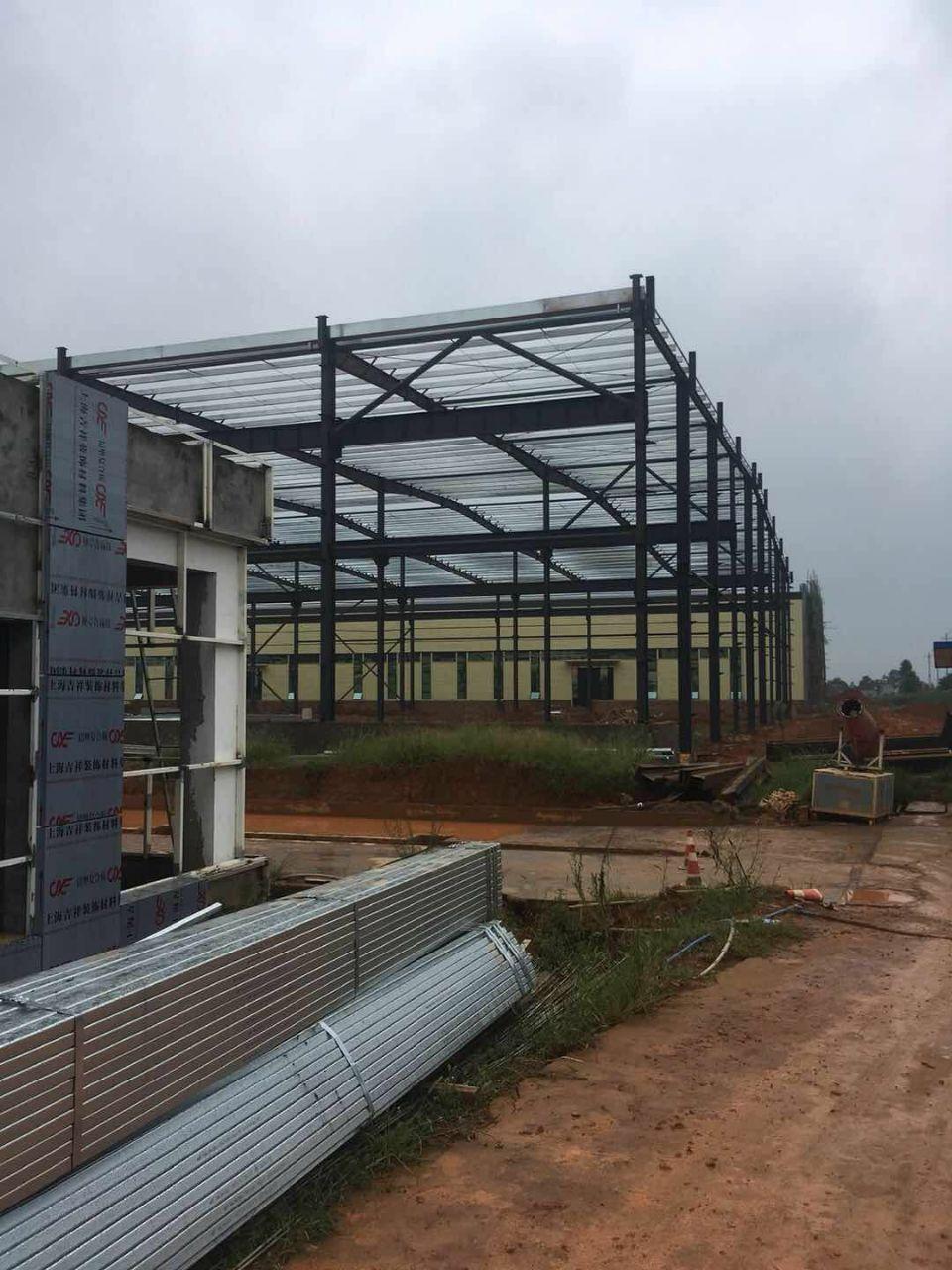 大渡口区标准厂房层高11.8米跨度24米长度100米标准钢结-图6