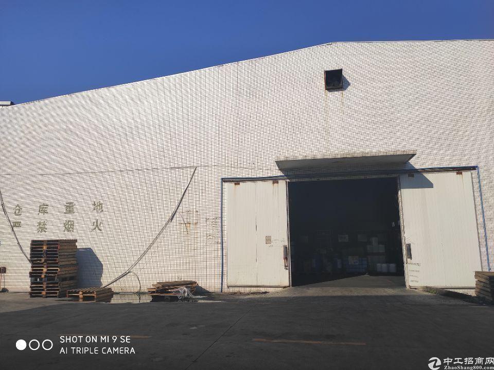 广州黄埔永和开发区独栋钢构仓库5500平出租
