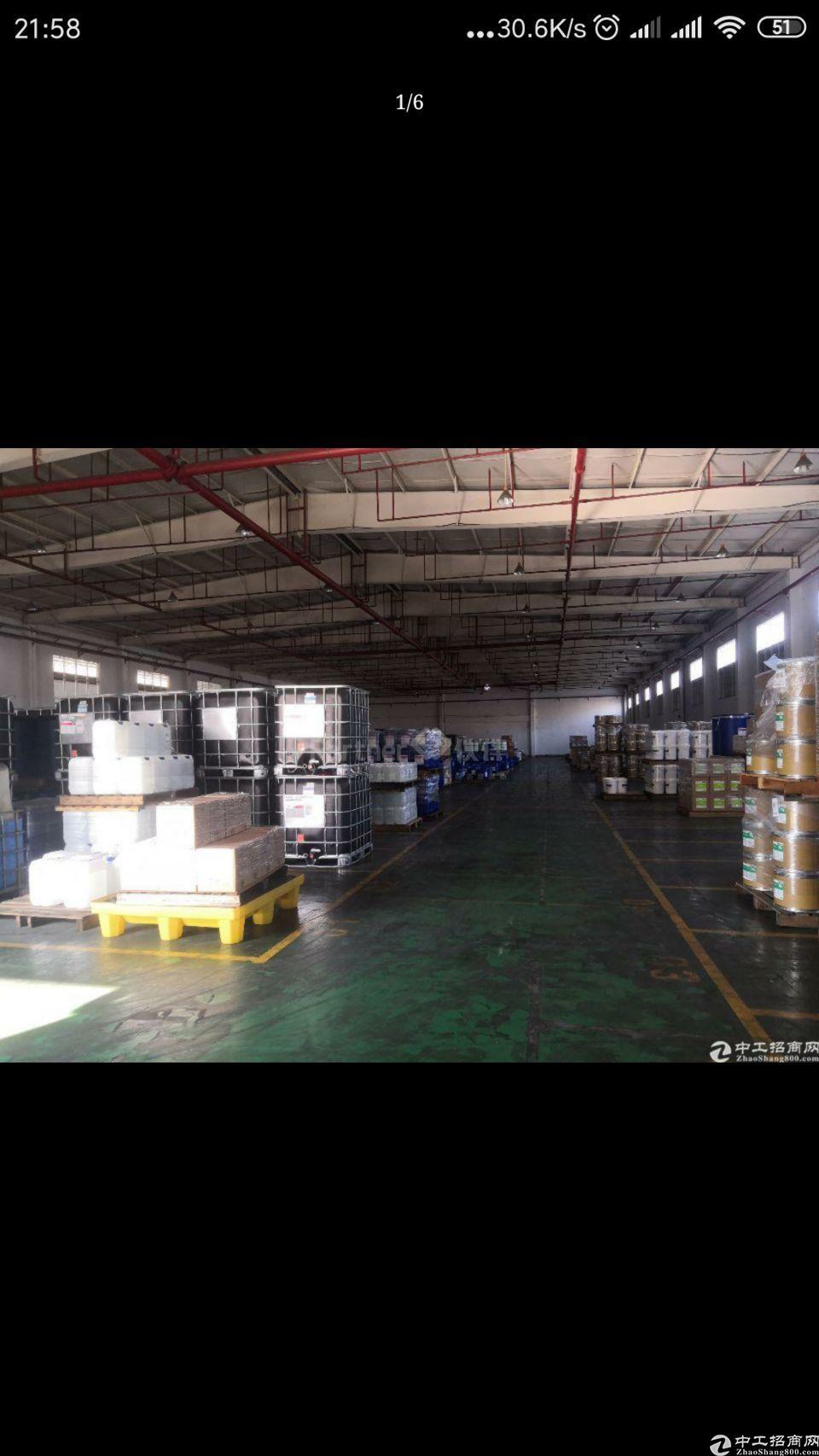 秋长单一层钢构厂房6000平米招租