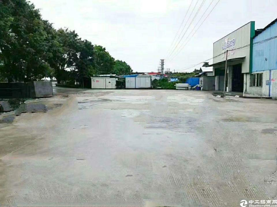 黄埔荔联超大空地2586平一楼标准钢构厂房招租(可分租)-图5