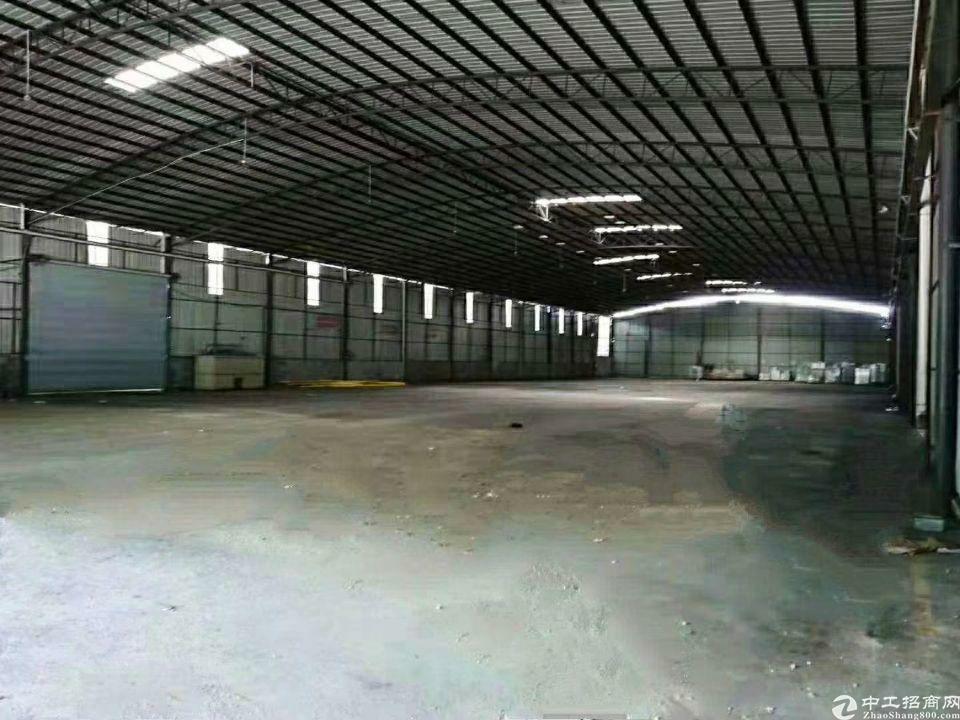 黄埔荔联超大空地2586平一楼标准钢构厂房招租(可分租)-图4