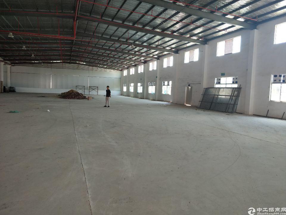 惠阳新出独院钢构厂房单一层5000平证件齐全带红本。