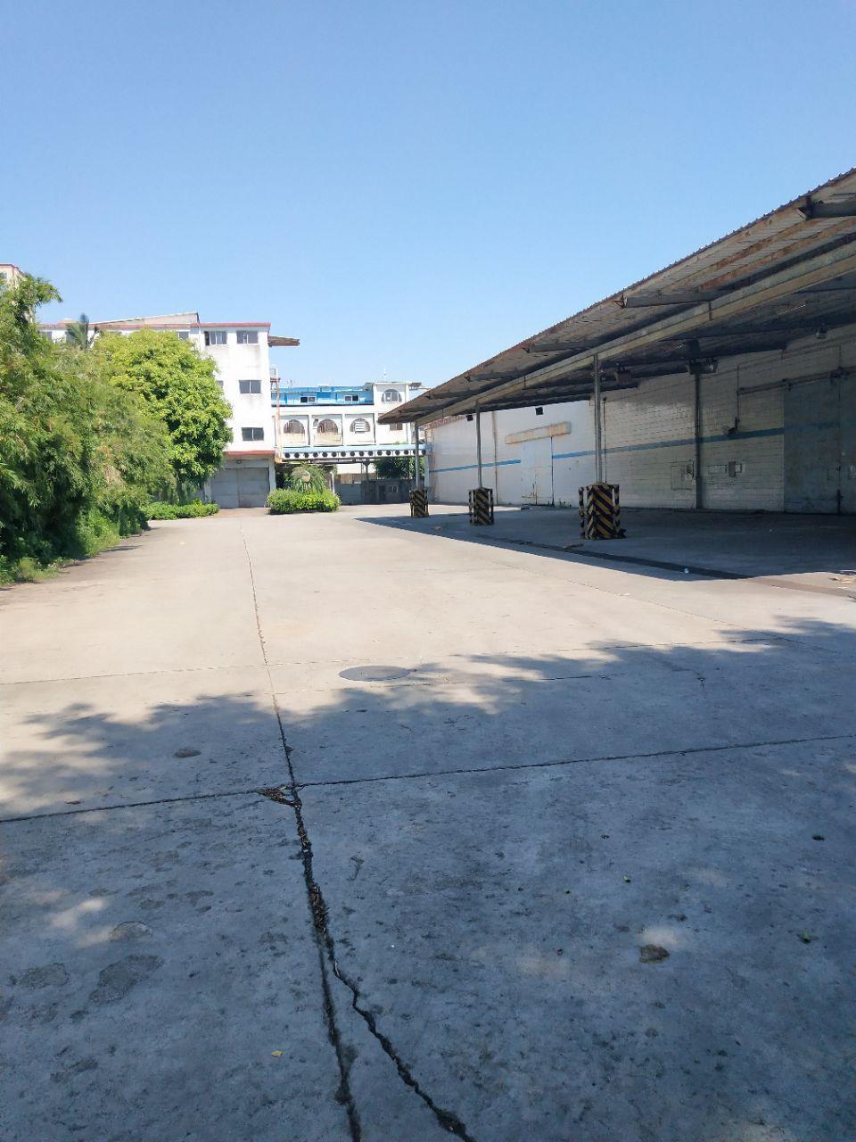 虎门南栅单一层厂房7000方可分租。适合仓库、物流、机械行业
