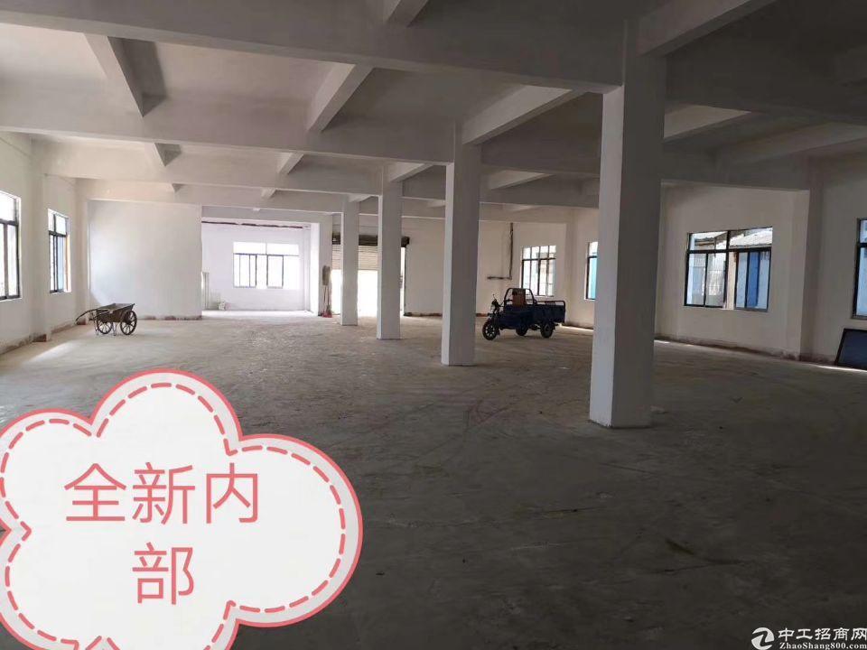 茶山新出二楼标准厂房900平,带现成装修,现成制衣车间