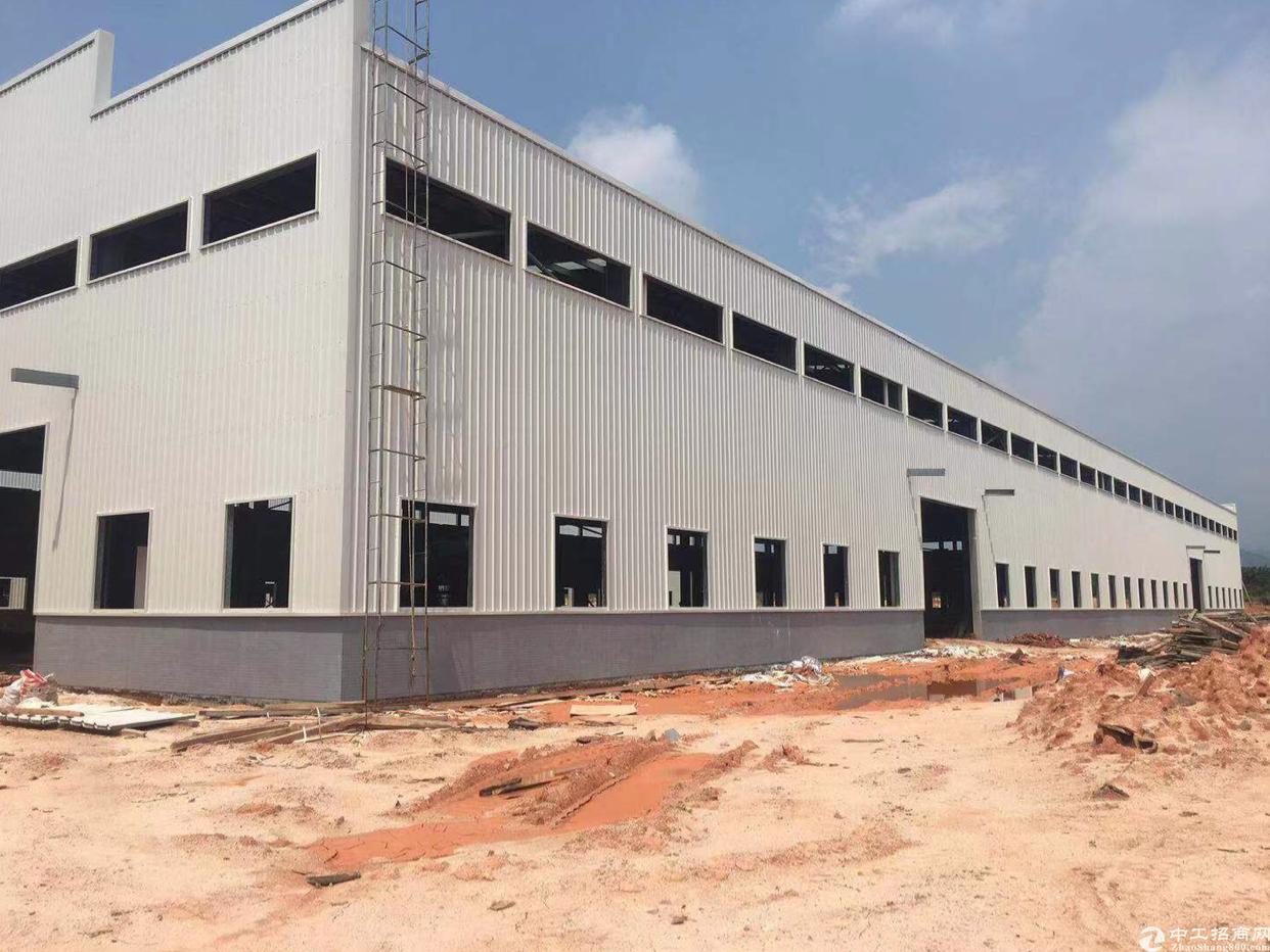 江门500亩单一层钢构厂房出租交通方便证件齐全空地大适合各行