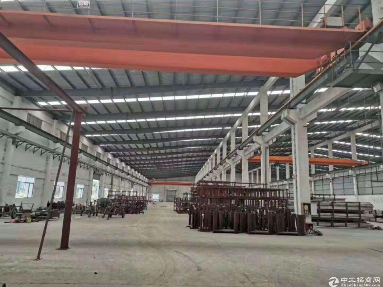 黄埔区萝岗单一层钢结构厂房仓库3300平招租,有行车