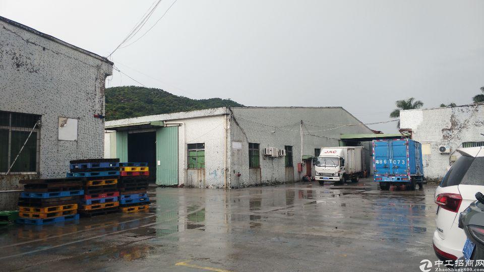 西丽关口附近物流仓库6500平方,有货台空地大