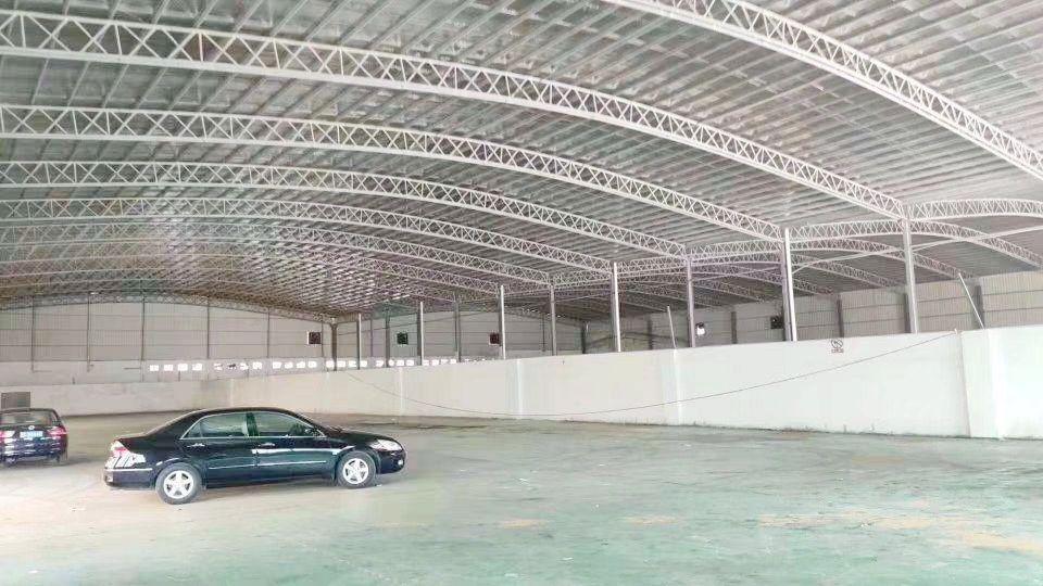 广州天河标准300平仓库单一层大型货车随意调头出租