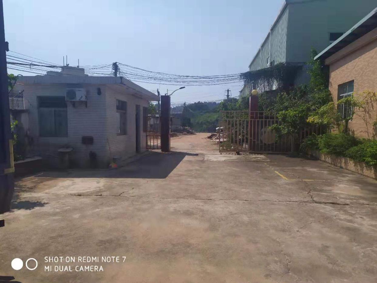 黄江镇原房东独院钢构2700平方出租适合做仓库