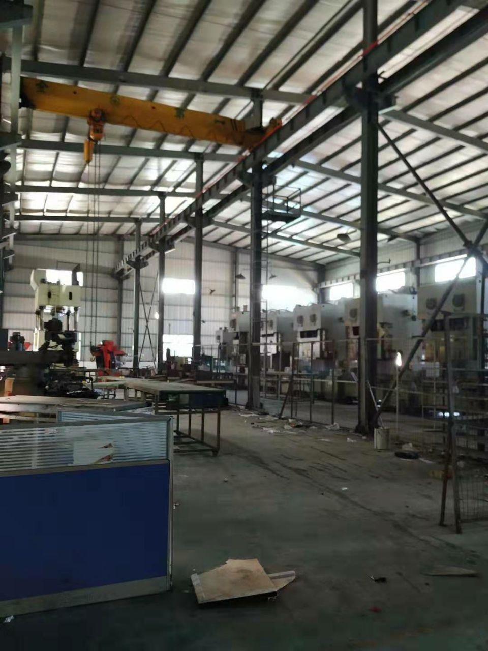 厦岗 原厂房钢结构1000平米,空地1000平方米已硬化。电