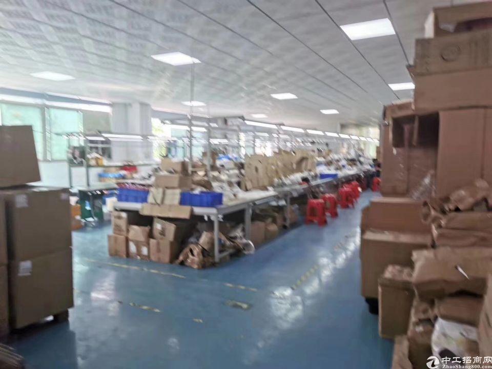 福永新和楼上带装修1500平厂房出租-图2