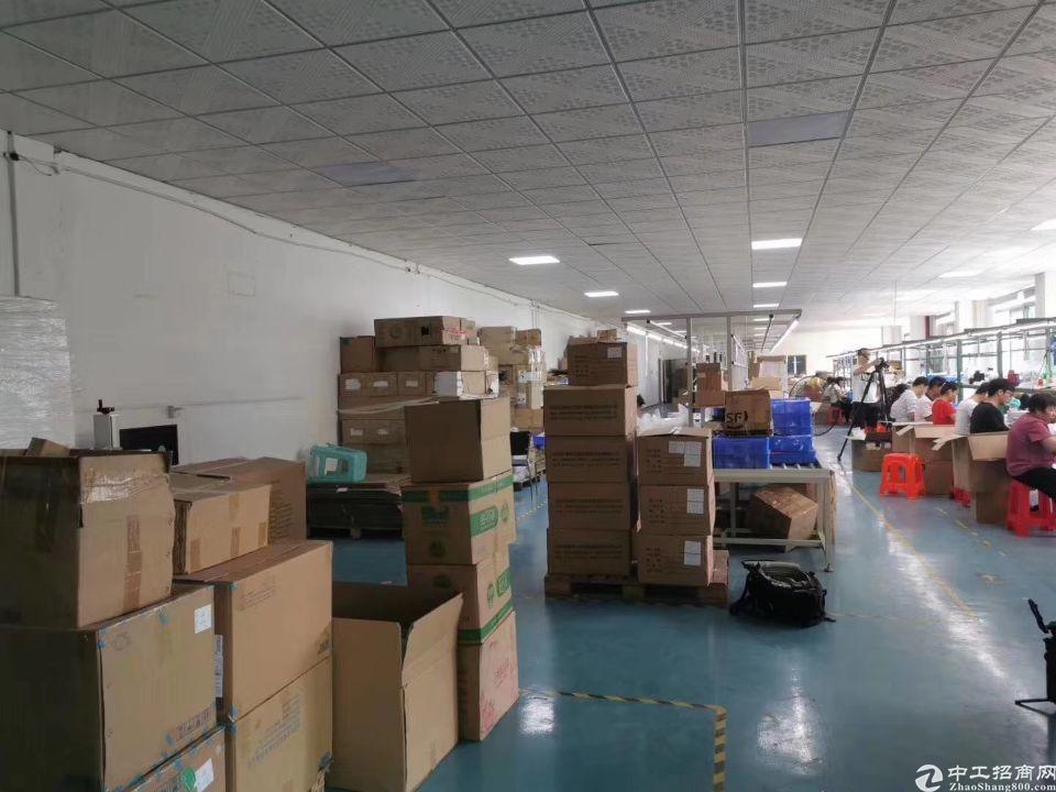 福永新和楼上带装修1500平厂房出租-图7
