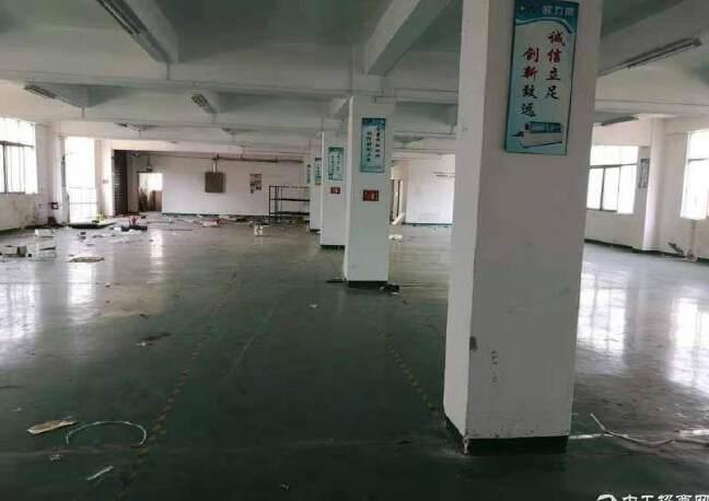 福永新和1300平一整层带装修厂房出租