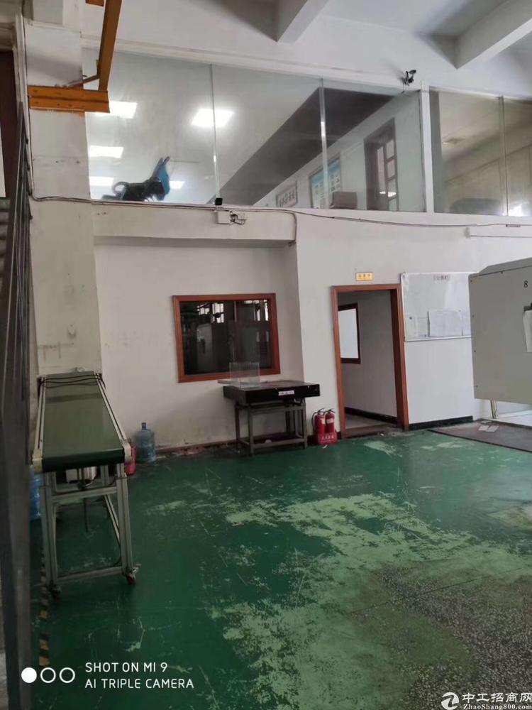 长安宵边工业区一楼厂房1000平方带小行车不要转让费