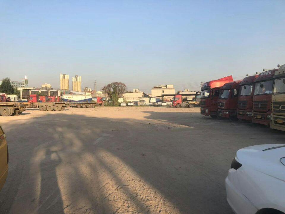 黄埔东路边上新出空地停车场2800平招租。