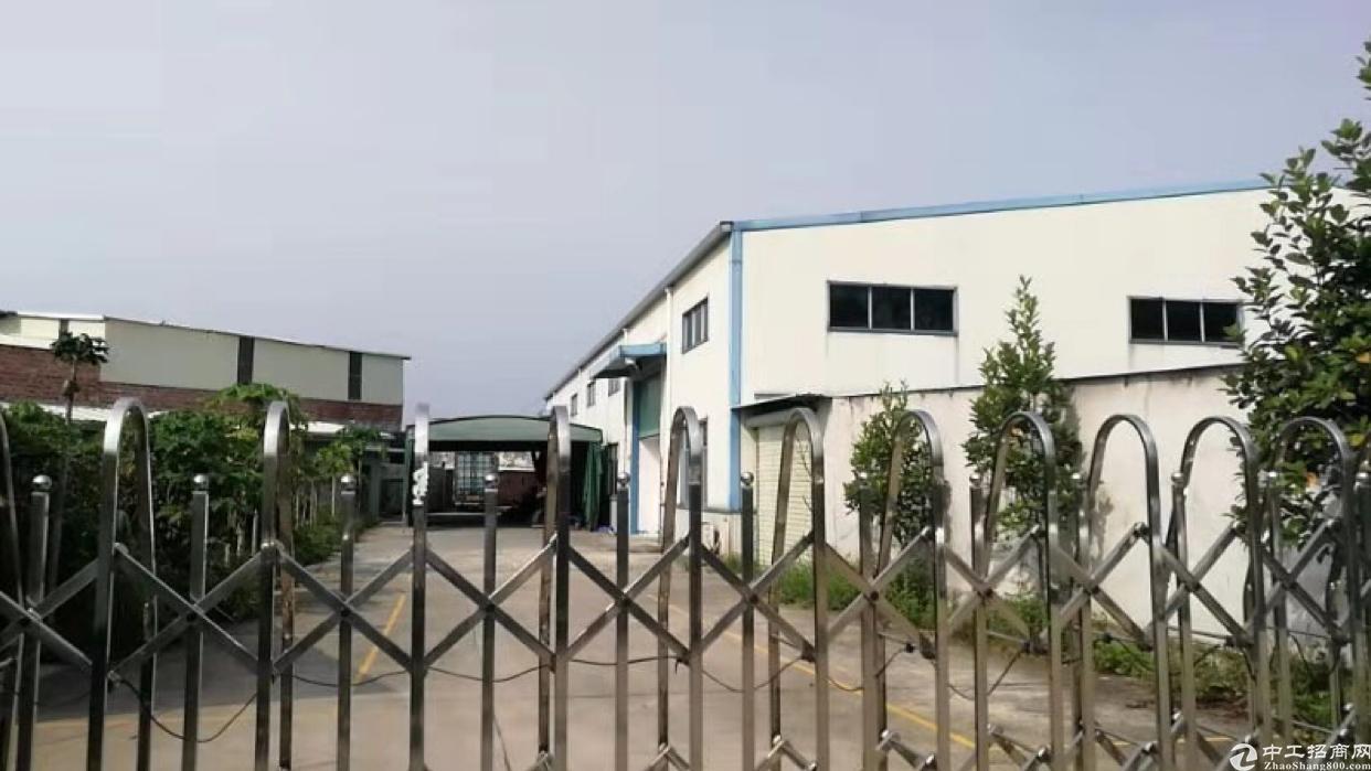 单一层厂房出售:占地2500㎡,厂房1500㎡,宿舍500