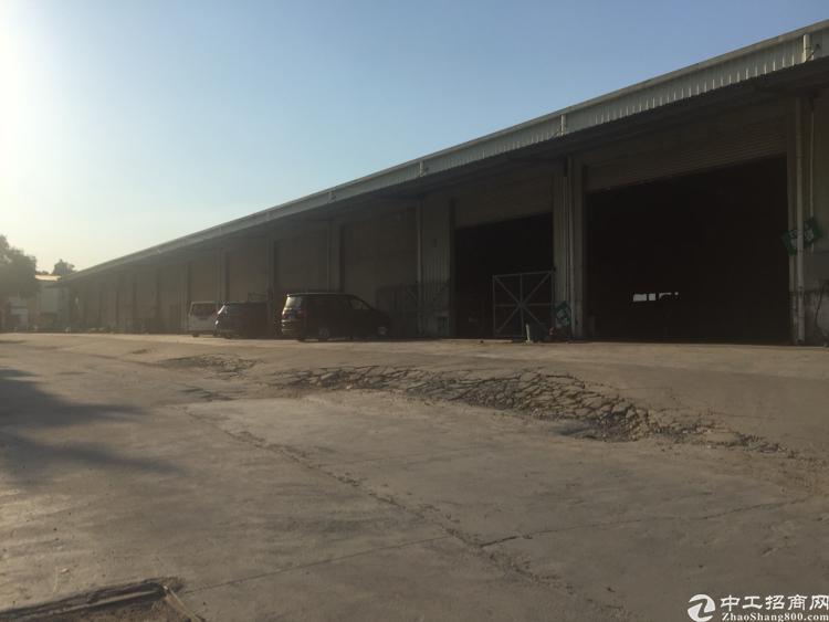 观澜福民新出单一层厂房空地大适合物流仓库面积6000平米