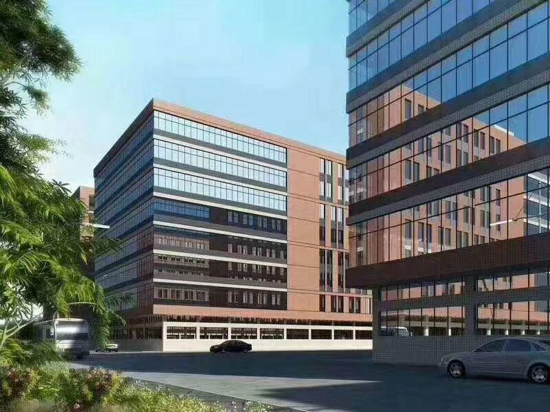 东莞市全新高端产业园18万平方,可以办环评,大小分租