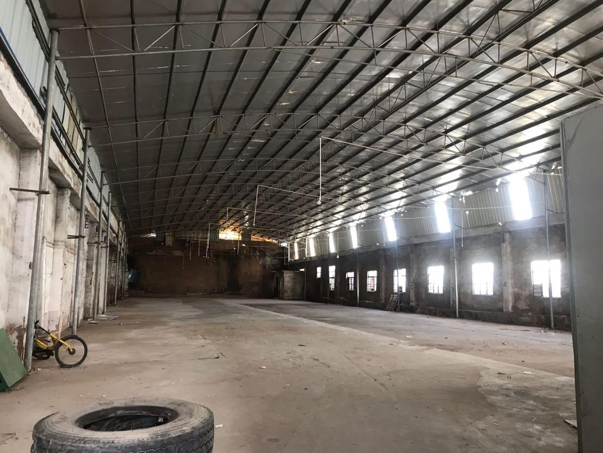 天河岑村工业区单一层钢结构仓库招租,价格实惠