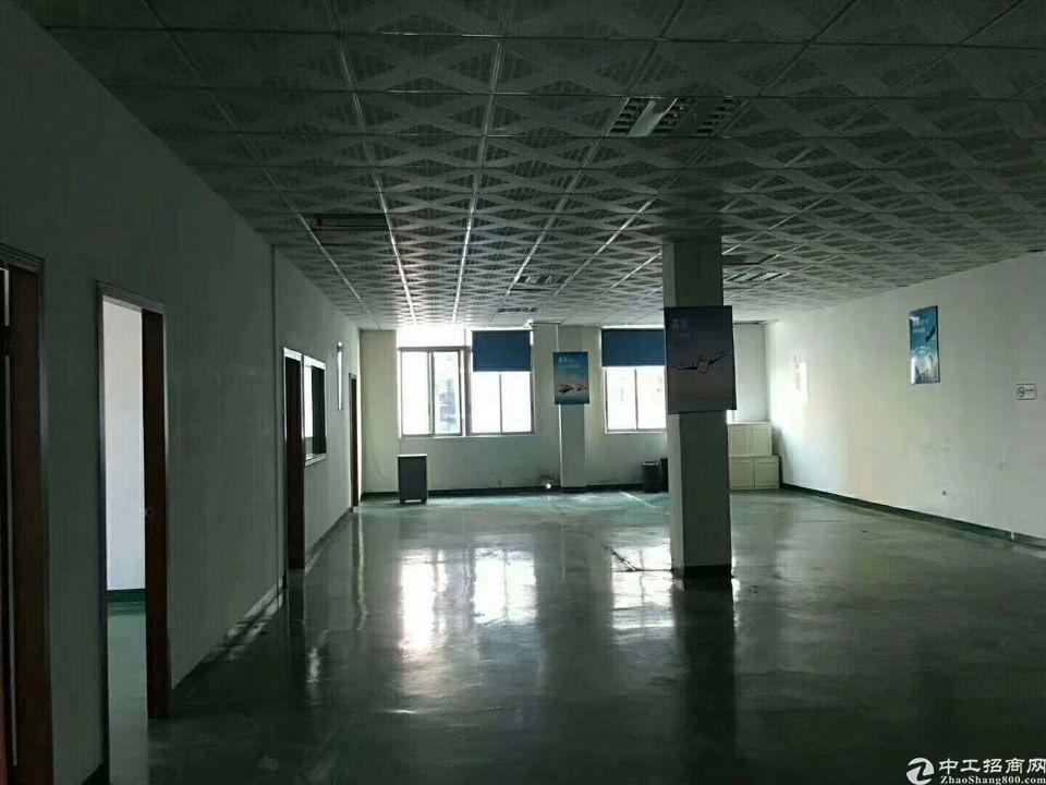 沙井新出村委厂房出租,二楼和四楼上实际面积各1210平