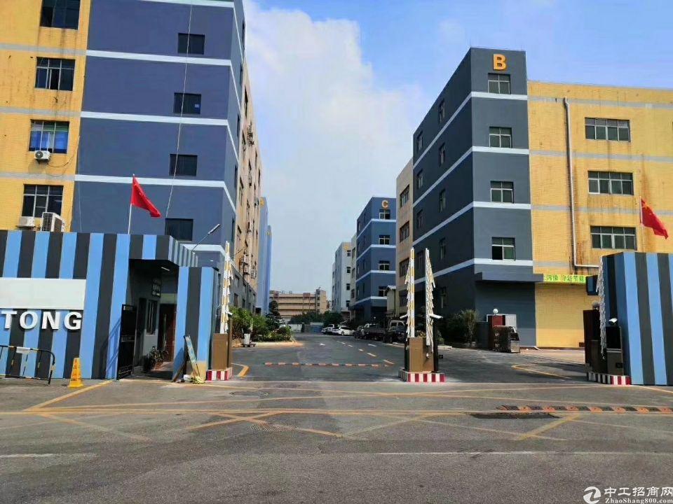宝安红本独院2栋厂房16400平,可分!一楼6米高