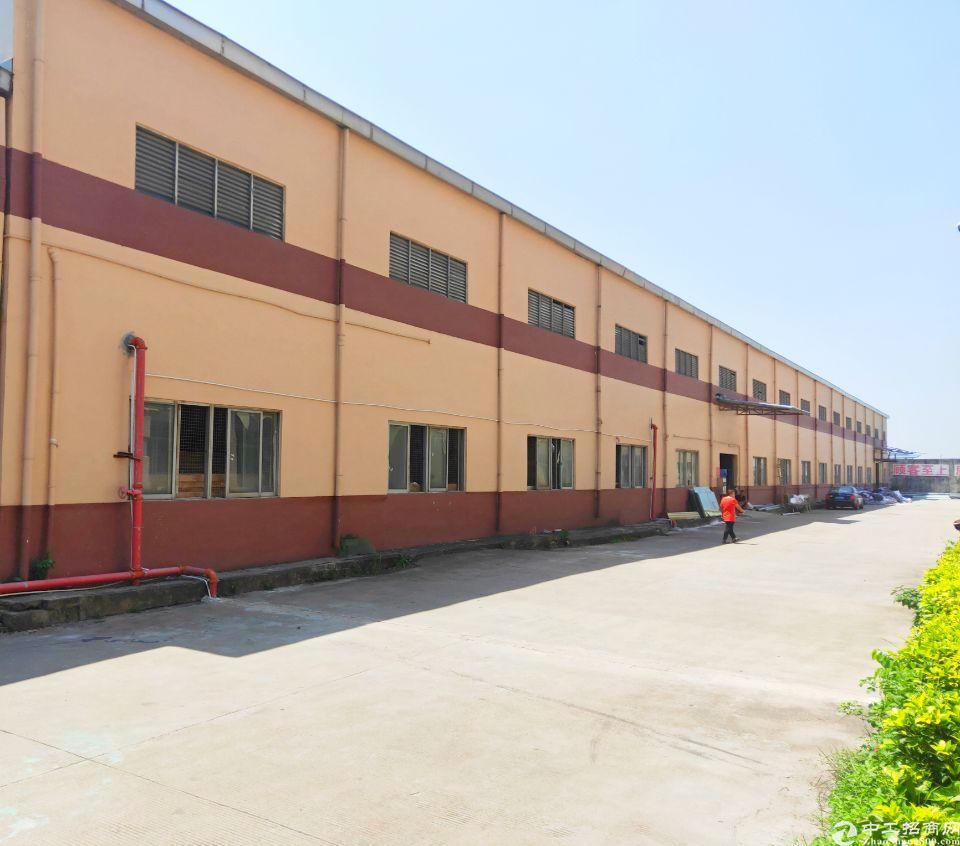 洪梅出租带现成环评厂房,高10米,中午无柱子非常好用!带红本