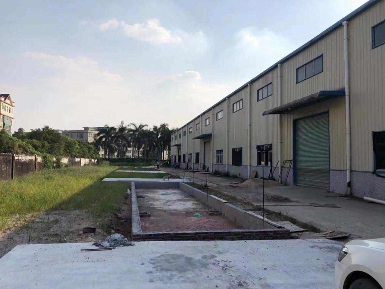塘厦镇新出物流仓库8000平方钢构厂房出租