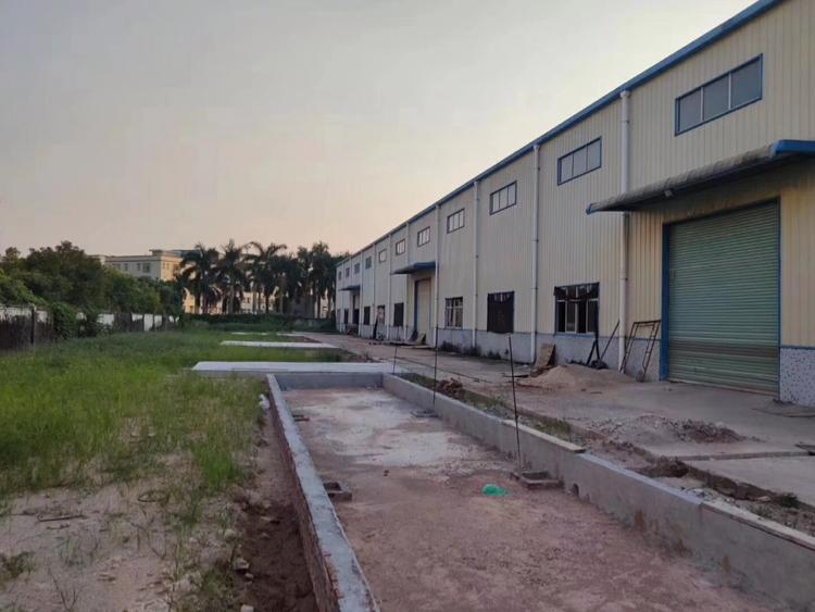 塘厦清湖头新出10米高钢构8000㎡,厂房双层屋顶,带隔热层