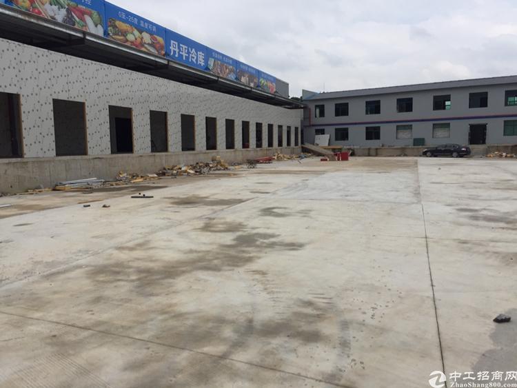 平湖海吉星旁边新建食品仓库出租,有冷藏和冷冻库,有分拣区