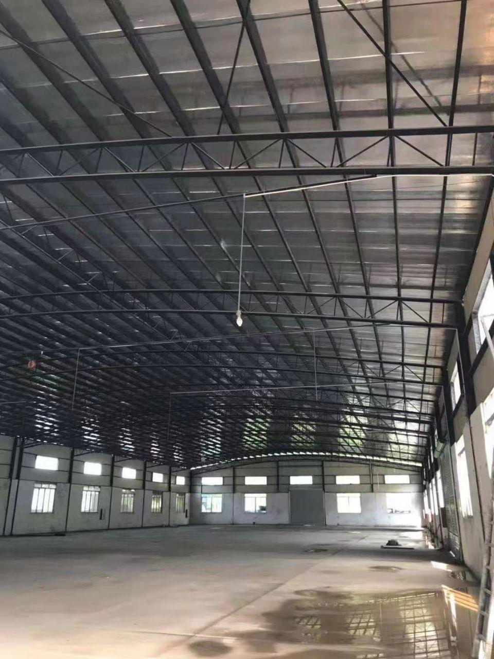 (出租)中间无柱,使用率高,番禺南村简易厂房2400方出租